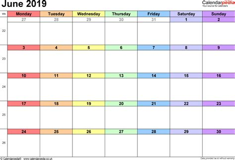 Calendario Mayo 2003 Calendar June 2019 Uk Bank Holidays Excel Pdf Word Templates