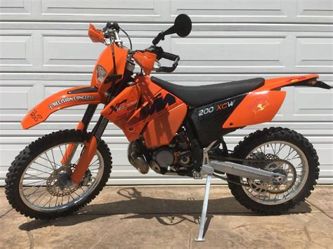 2006 Ktm 200 Xcw 2006 Ktm Xc For Sale Used Motorcycles On Buysellsearch