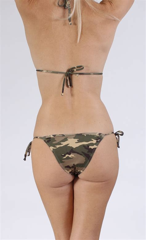 St 2pc Army Green Yellow s juniors army green camo camouflage swimwear ebay