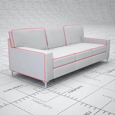 prague sofa prague sofa 3d model formfonts 3d models textures