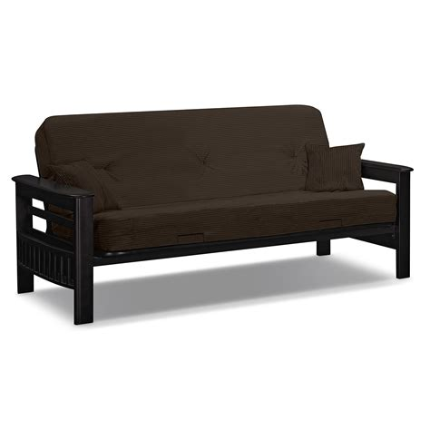 brown futon sofa bed ta futon sofa bed brown value city furniture