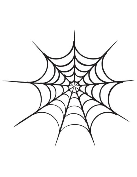 coloring page spider web spider web coloring page download free spider web