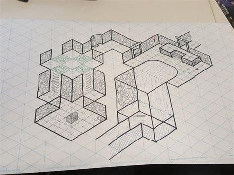 grid pattern paper roll new kickstarter isometric gaming paper rolls gaming paper
