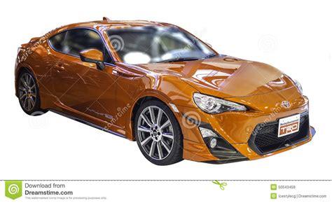 Toyota Of Orange Jingle Orange Toyota Gt 86 Sports Car On White Backgroun With
