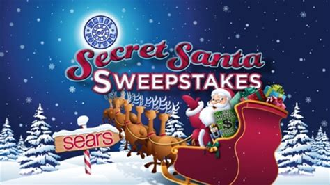Wheel Of Fortune Santa Sweepstakes - cbs press express wheel of fortune and sears team up for second secret santa