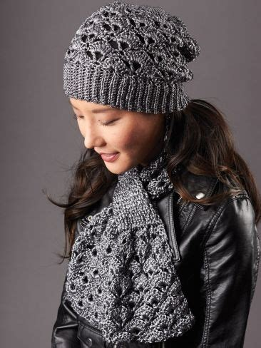 free knitting patterns for hats and scarves