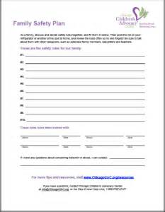home safety plan template family safety plan to prevent abuse chicago children