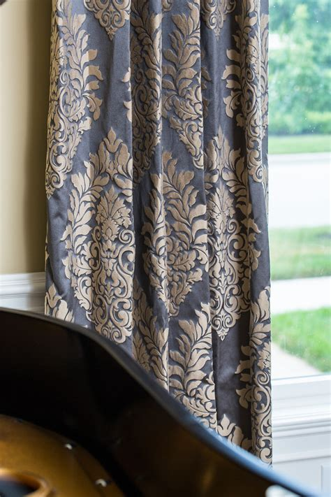 next damask curtains chic damask curtains innovative designs for kids eclectic