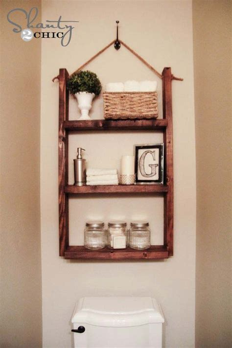 47 Creative Storage Idea For A Small Bathroom Organization Small Bathroom Shelving