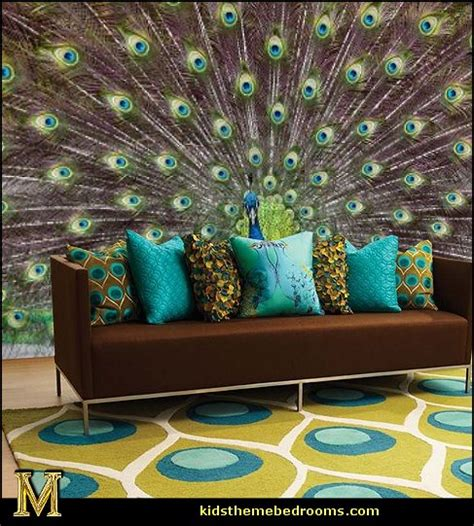peacock themed home decor decorating theme bedrooms maries manor peacock theme