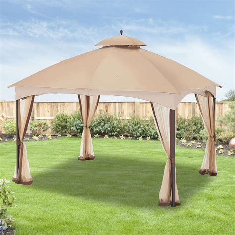 gazebo replacement cover home depot canada gazebo replacement canopy cover garden