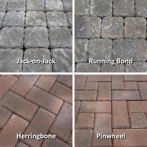 paver patterns for patios how to design and build a paver patio