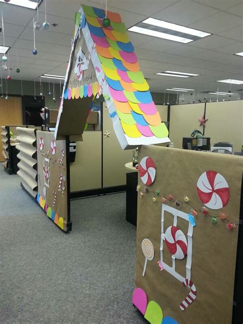 gingerbread house office cubicle decorations cubicle decorations gingerbread house office decoration