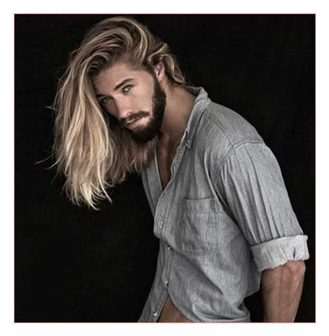 Mens blonde hairstyles tumblr also Guys with Long Hair1