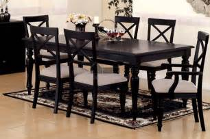 Black Dining Room Set Black Dining Room Set Marceladick