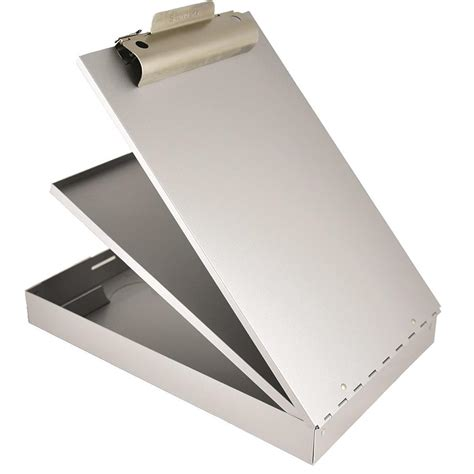 Metal Clipboard metal clipboard with removable compartment gempler s