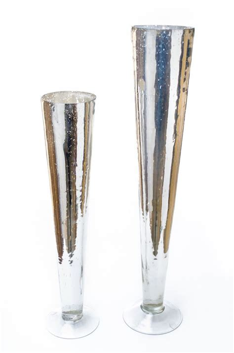 Mercury Glass Trumpet Vase by 86 Best Images About Wedding On Vase