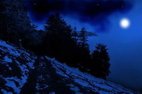 wallpaper blue night blue night background by burtn on deviantart
