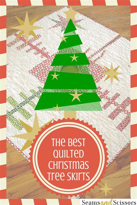 tree skirt quilt patterns the best quilted tree skirts 15 quilt patterns