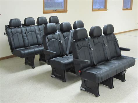 limo seats luxury limousine seating for mercedes dodge freighliner