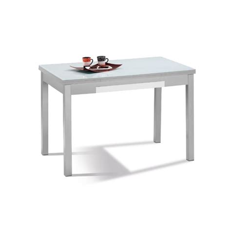 mesas de cocina extensible mesa de cocina mod ibiza cristal extensible furnet