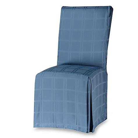 denim chair covers buy origins microfiber dining room chair cover in denim