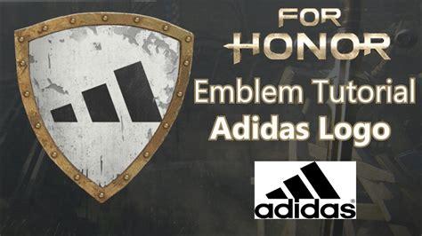 Tutorial Logo Emblem | for honor adidas logo emblem tutorial doovi