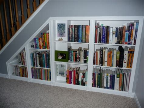 Bookcase Under Stairs 1000 Ideas About Stair Shelves On Pinterest Staircase