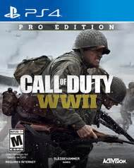 call of duty wwii pro edition only at gamestop for