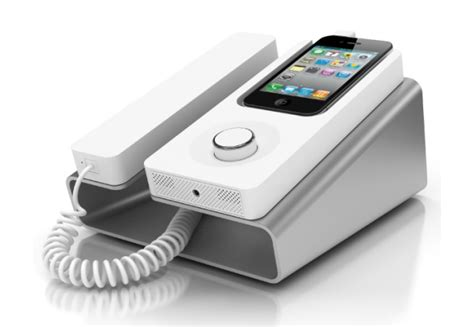 amazing docks that turn your iphone into a desk phone