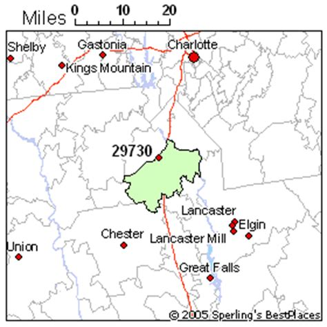 best place to live in rock hill zip 29730 south carolina
