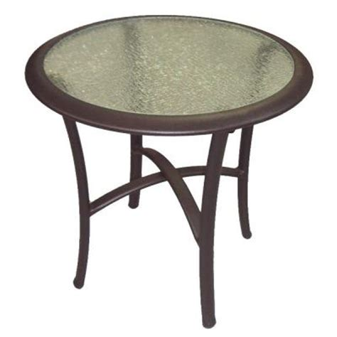 Martha Stewart Patio Table Martha Stewart Living Welland Patio Side Table Discontinued 1 1600 04 0pg The Home Depot