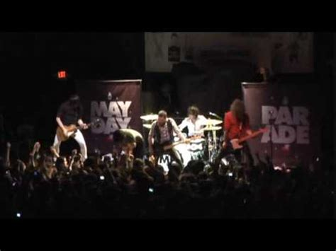 mayday parade live quot if you cant live without me quot and
