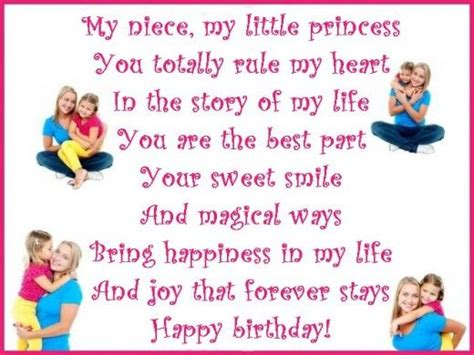 Baby Niece Birthday Quotes Happy Birthday Wishes Poems And Quotes For A Niece