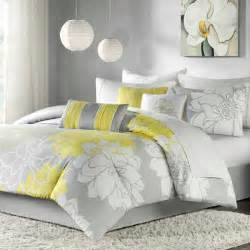 Lemon Duvet Cover Shop Madison Park Lola Yellow Bed In A Bag Sets The Home
