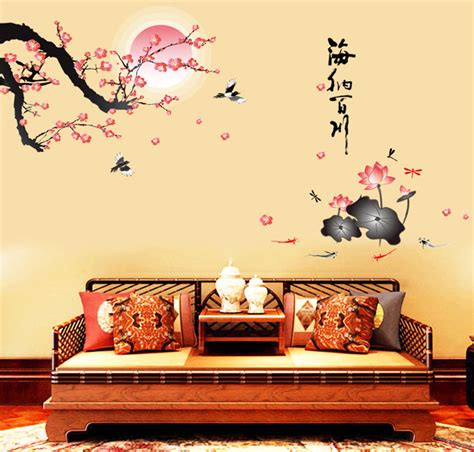 wall stickers china new wall stickers flowers birds home decor living room decals modern removable pvc