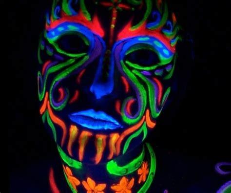 Black Light L by Neon Fx Blacklight Makeup Pallet Wear Costume Accessory Fnt Ebay