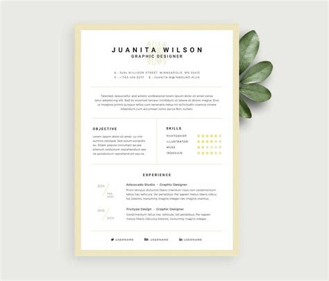 Free Work Resume Template by Free Resume Templates 17 Downloadable Resume Templates To Use