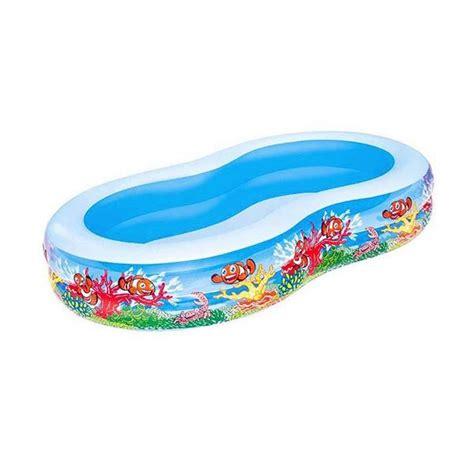 Kolam Renang Anak Bestway Masha jual beli kolam renang anak lagoon motif nemo pool