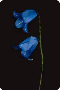 Bell Flower Origami - origami flower tutorials includes roses lotus iris