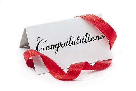 sample letter  congratulations