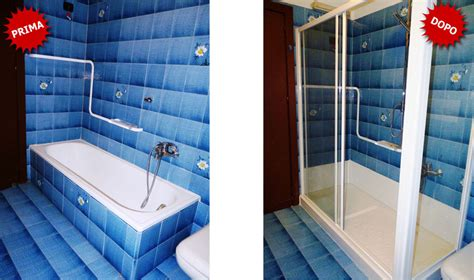 trasformare vasca da bagno in doccia prezzo quanto costa trasformare la vasca da bagno in doccia