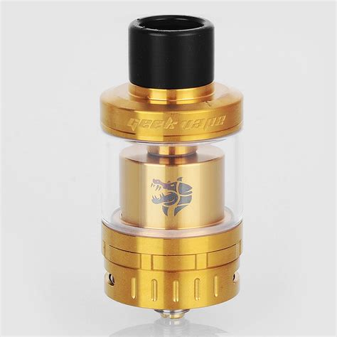 Geekvape Ammit Rta Atomizer Tank authentic geekvape ammit 25 rta rebuildable tank atomizer gold vapers paradise