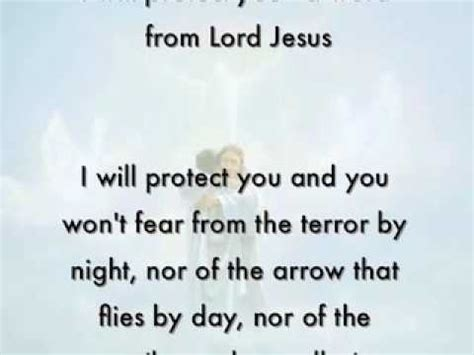 how do i my to protect me i will protect you a word from lord jesus