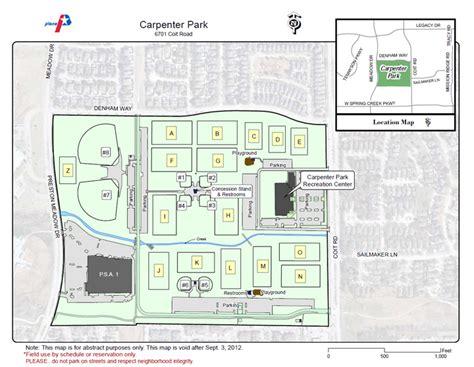 park plano field maps