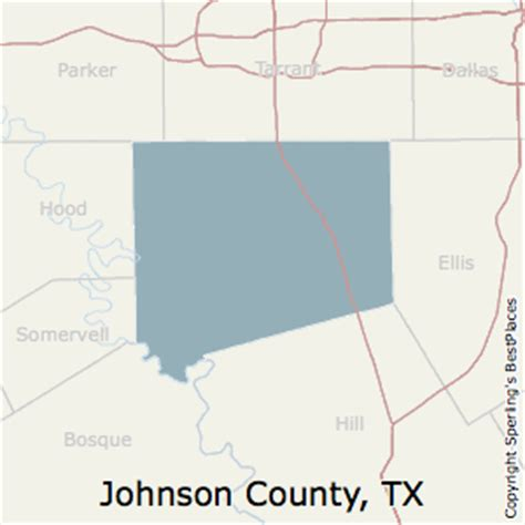 johnson county texas map best places to live in johnson county texas