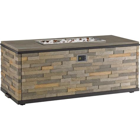 top propane fire pit tres chic propane fire pit by tommy bahama
