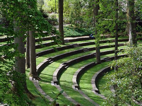Arboretum Landscape And Design Outdoor Hitheater Garden Tour Arboretum