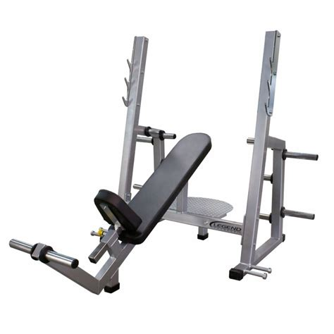 olympic incline bench legend fitness pro series olympic incline bench 3241
