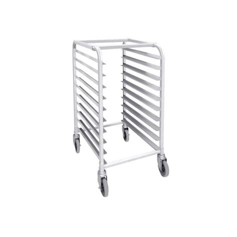 half size aluminum sheet pan rack for 10 size pans